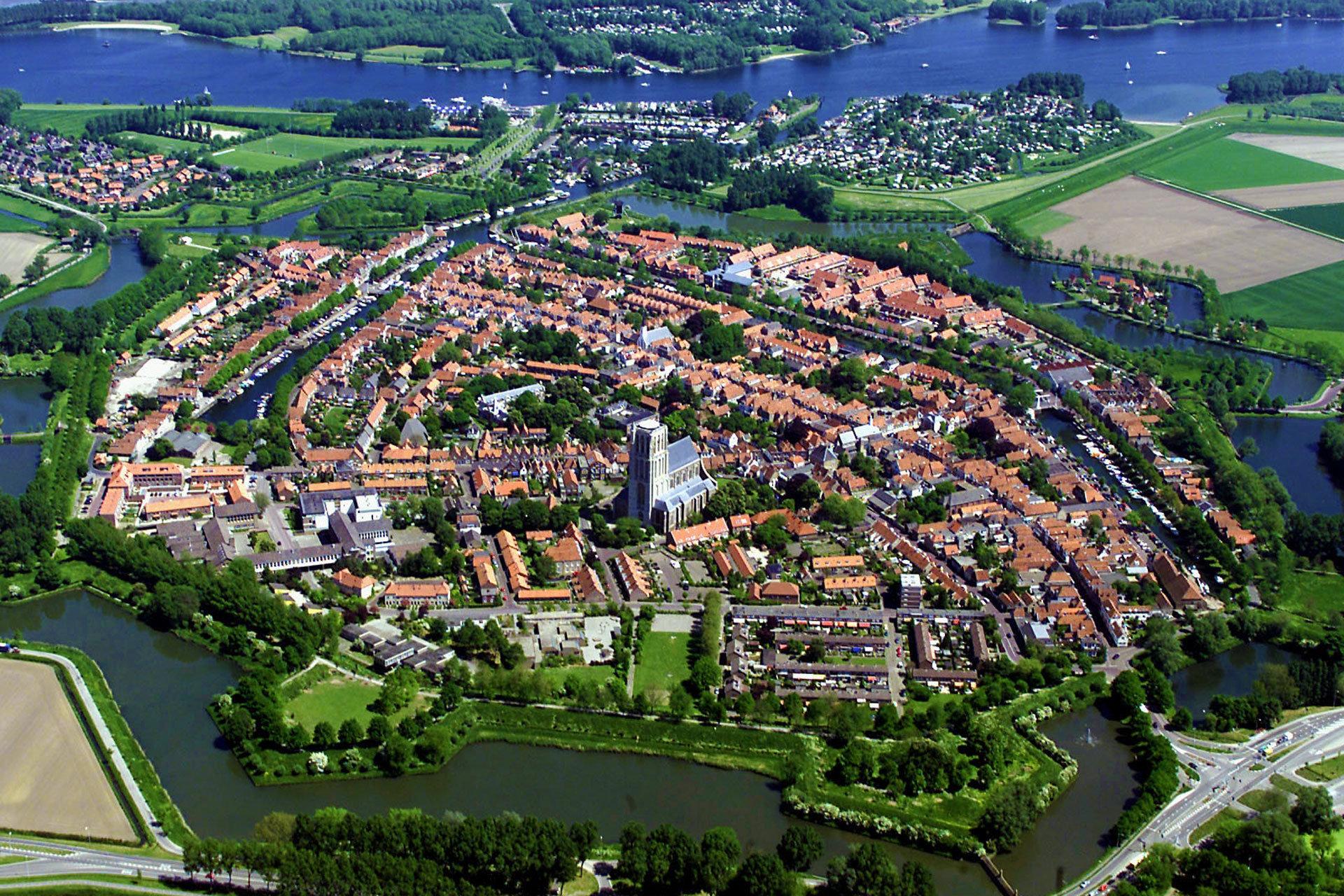 Historischer Stadtkern von Brielle