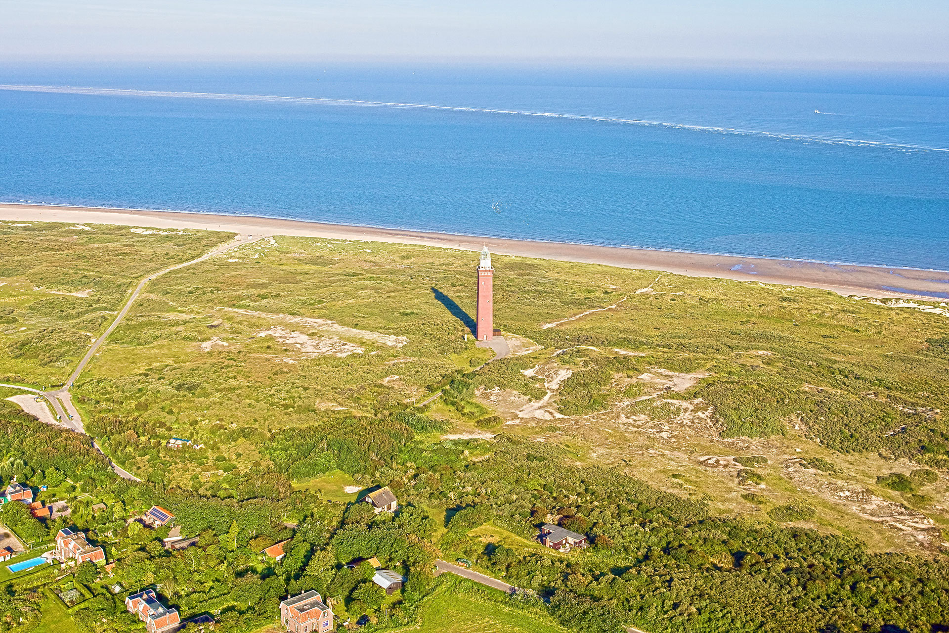Ouddorp Strand Leuchtturm