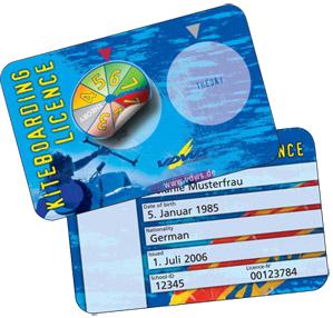VDWS Lizenz Kiteboarding