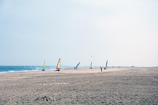 Ein großer Strand für lange Strecken!